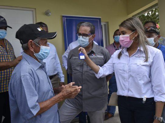 Familias propietarias de viviendas destruidas por ventolina recibieron nuevas casas