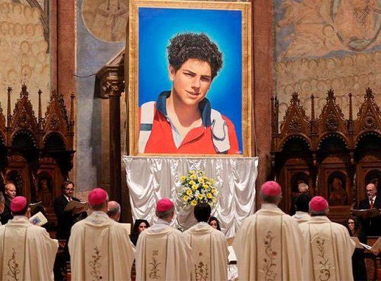 "Beatifican en Asís al primer ""influencer"" de la Iglesia"