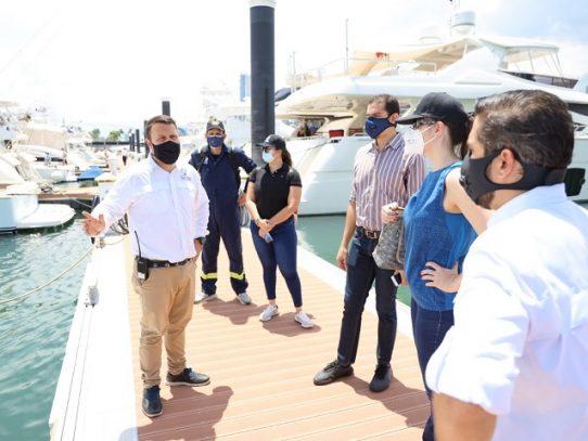 AMP emite un aviso de prevención a embarcaciones por efectos del huracán ETA