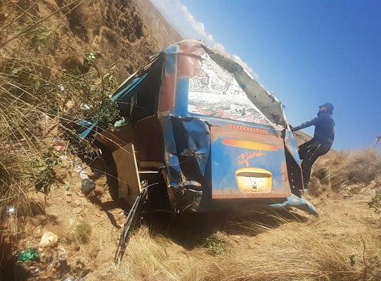 Un accidente vial en Bolivia deja 19 muertos y 17 heridos, el más grave del año