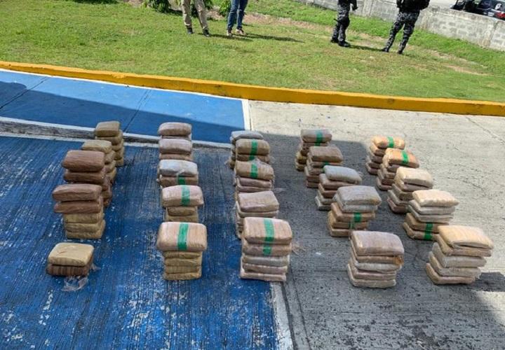 Decomisan 122 paquetes con droga en Juan Díaz