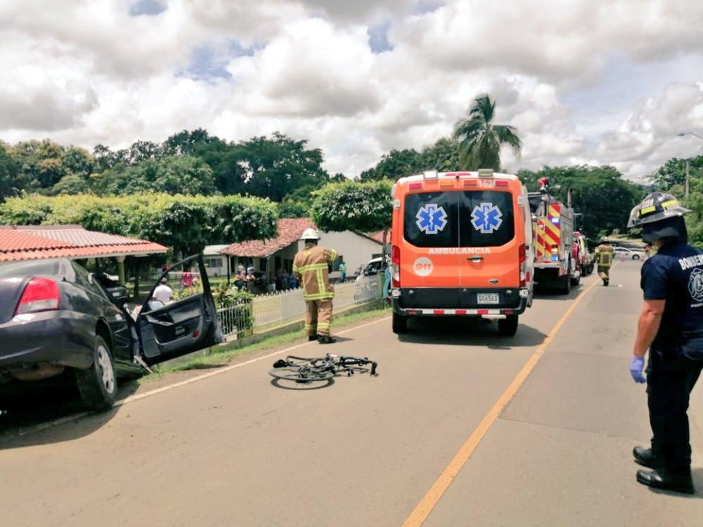 Ordenan detención provisional para hombre que atropelló a ciclistas en Las Tablas