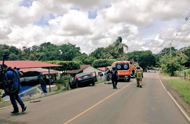 MP inicia investigación por accidente de tránsito que dejó dos muertos en Los Santos