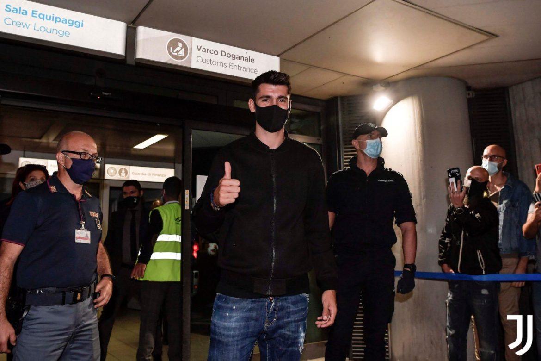 El delantero español Álvaro Morata regresa a la Juventus