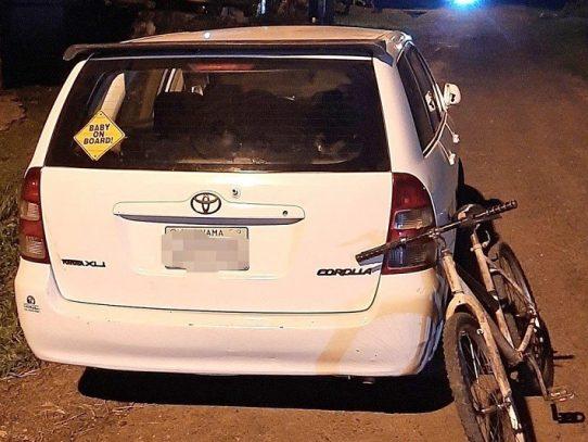 DNOT sanciona a conductor que empujó a ciclista en La Chorrera