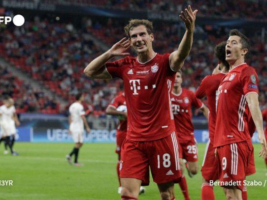 El Bayern de Múnich gana la Supercopa en la prórroga ante un heroíco Sevilla