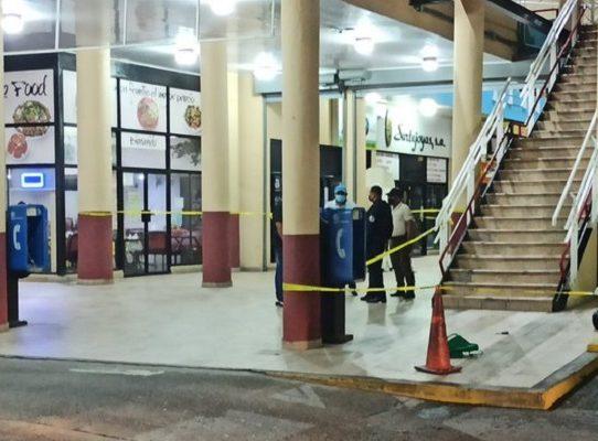 MP investiga tentativa de homicidio y robo en el centro comercial Los Andes
