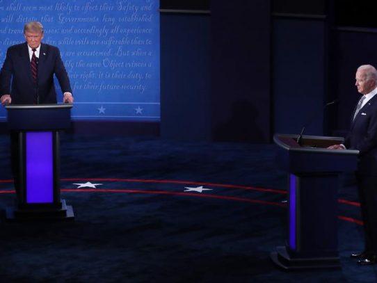 Trump y Biden inician su primer debate hacia las elecciones de noviembre