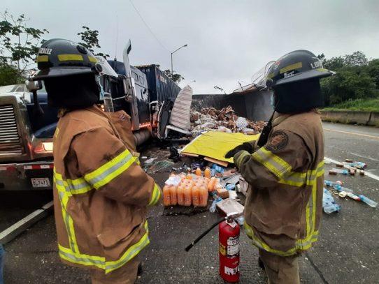 Un lesionado tras accidente vehicular en Chilibre