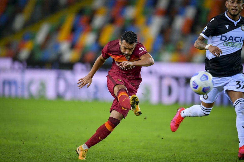 Pedro marca su primer gol en Italia para abrir casillero de victorias de la Roma