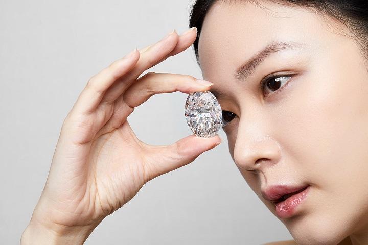 Un diamante de 102 quilates vendido por 15,7 millones de dólares en Hong Kong