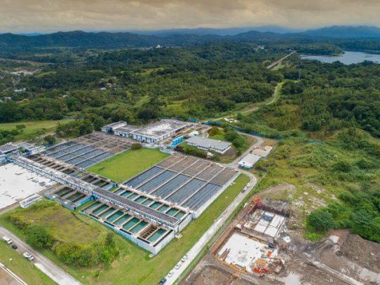 Al 90 % trabaja la planta potabilizadora de Chilibre