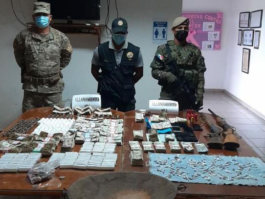 Dos aprehendidos  y más de 40 mil incautados en operación contra la minería ilegal