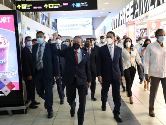 """Cortizo resalta reapertura de aeropuerto de Tocumen como """"hub de las Américas"""""""