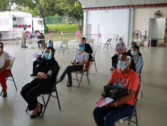 Realizan mamografías y trazabilidad del Covid-19 en el Parque Omar