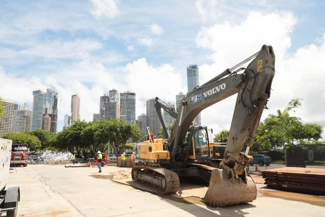 Saneamiento de Panamá extiende trabajos en el área de la Cinta Costera