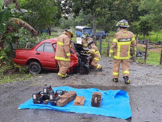 Dos víctimas fatales por accidente de tránsito en Chiriquí