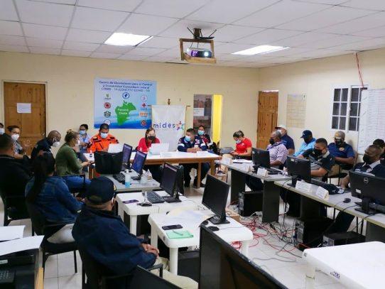 COE en Panamá Oeste da seguimiento a evolución de huracán IOTA