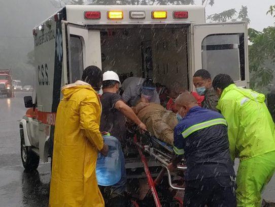 Sinaproc declara alerta amarilla en la provincia de Chiriquí