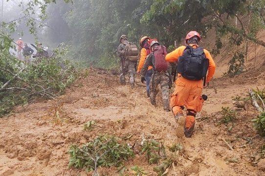 Chiriquí: 'Operación Patria' inicia gestión ante tragedia, hay 68 desaparecidos