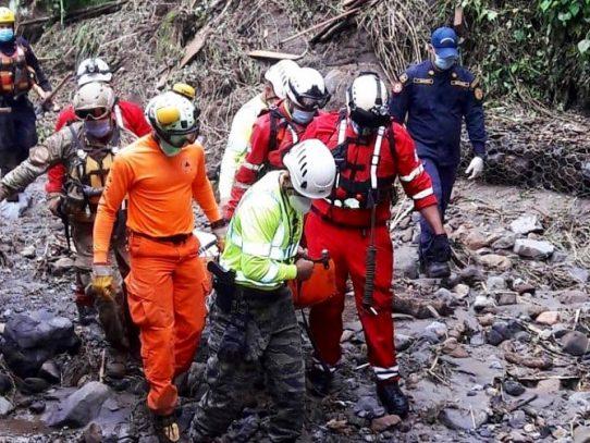 Rescatan otras 10 personas en Chiriquí, hay 3,551 en los albergues