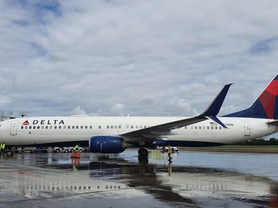 Aerolínea Delta reinició hoy operaciones en el aeropuerto de Tocumen