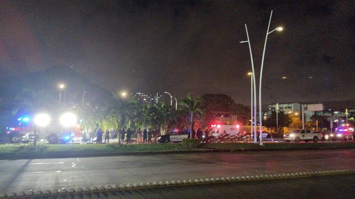 Víctima fatal por accidente vehicular en la Cinta Costera 3