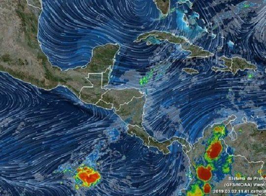 Aviso de vigilancia por desplazamiento de la onda tropical #46