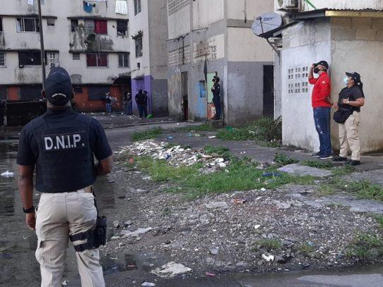 Decomisan sustancias ilícitas y armas en Barraza
