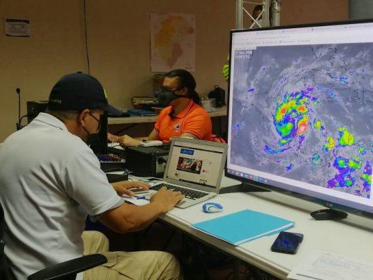 Emiten aviso de vigilancia ante Zona de Convergencia Intertropical que oscila sobre Panamá