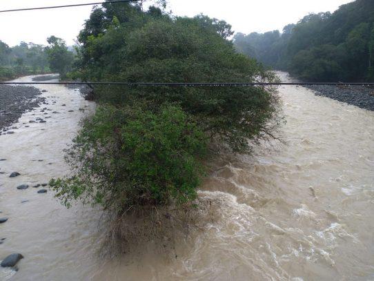 Clima inestable se mantiene en el país, continúa monitoreo de quebradas y ríos