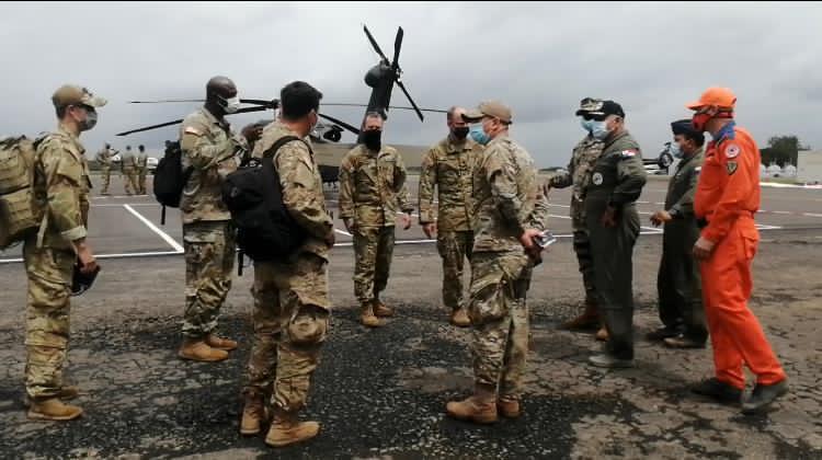 Operación del Comando Sur llegó a Panamá para ayudar a sus amigos
