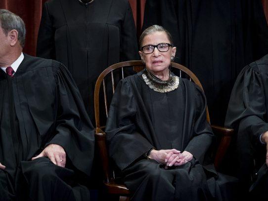 Opinión: Ruth Bader Ginsburg, icono octogenario de la condición física