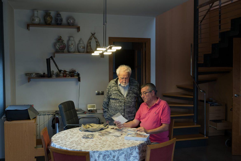 A punto de cumplir 100 años, un exsoldado español lamenta la maldición de su año de nacimiento