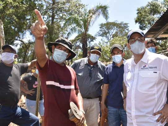 Gobierno recorre comunidadesasentadas en áreas protegidas de Arraiján
