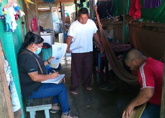 Levantan informes sociales para mejoras de casas a trabajadores de las bananeras