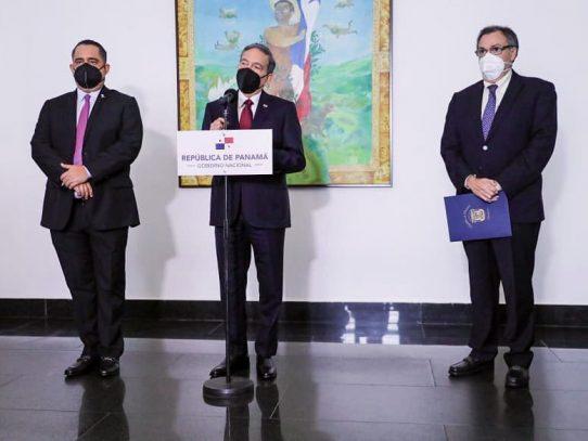 Cortizo se reúne con jefes del Legislativo y Judicial