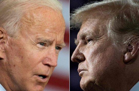 Trump y Biden intercambian ataques antes de un debate de alta tensión en EE.UU.