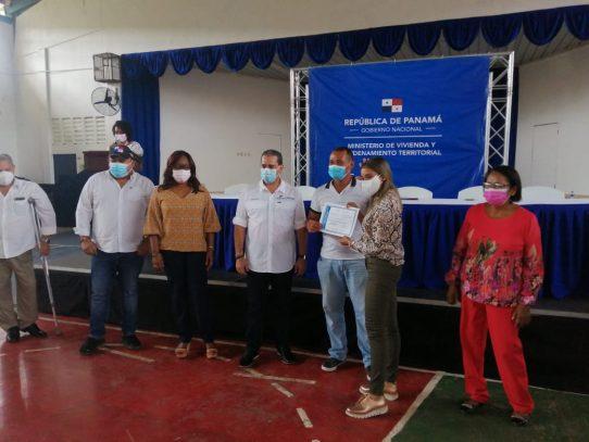 47 familias resultaron beneficiadas con legalización del segundo asentamiento informal en Panamá Oeste