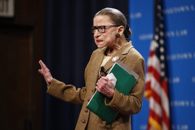 Fallece magistrada de Corte Suprema de EE.UU. Ruth Bader Ginsburg a los 87 años