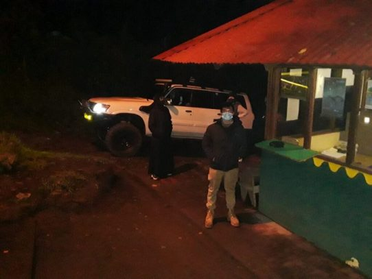 Llegan los primeros visitantes al Parque Nacional Volcán Barú tras su reapertura