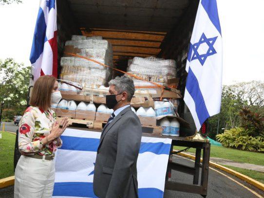 Panamá recibe ayuda humanitaria de Israel para atender afectados por huracán Eta
