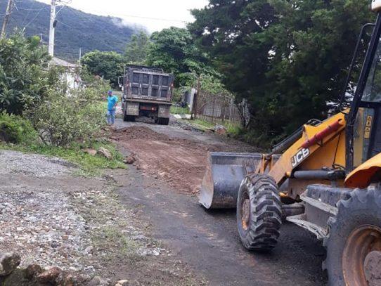 En Boquete mejoran vías de acceso que mantenían incomunicadas a comunidades
