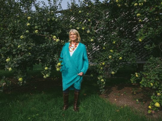 A Martha Stewart, feliz con el cannabidiol, le está yendo de maravilla