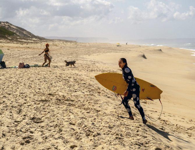 La ola más grande surfeada este año
