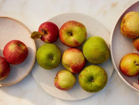 La tarta de manzana perfecta para un Día de Acción de Gracias pandémico