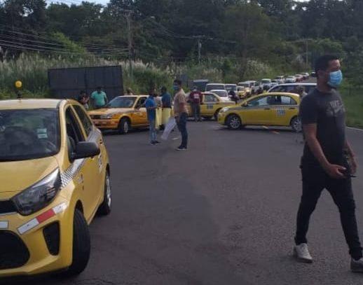 CCIAP: Cierre de vías por parte de taxistas afecta la cadena de suministros