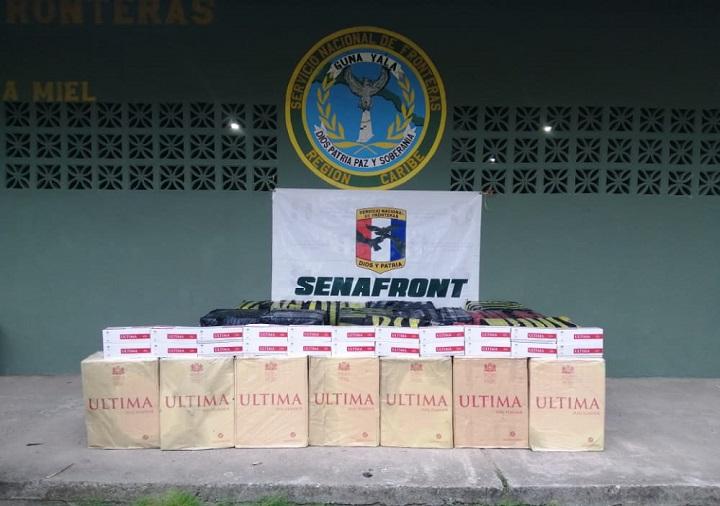 Encuentran 142,000 cajetillas de cigarrillos de contrabando en Guna Yala