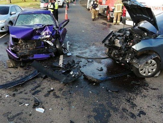Al menos seis heridos en accidente de tránsito en La Chorrera