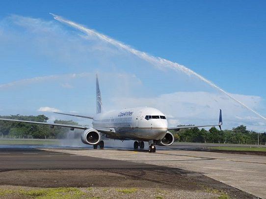 Reanudan vuelos nacionales en el Aeropuerto Internacional Enrique Malek de Chiriquí